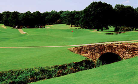 A view from Chastain Park Golf Course