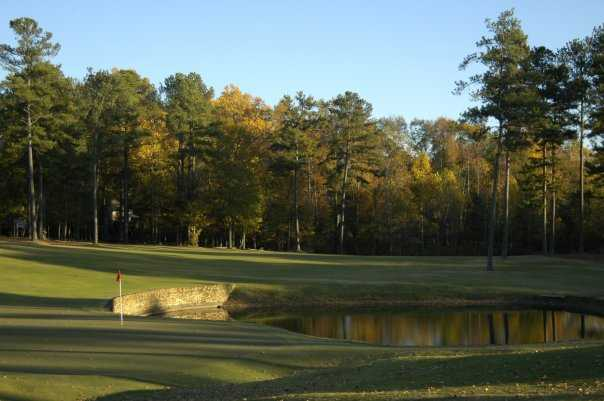 A view of the 4th hole at Lane Creek Golf Club