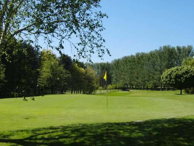 A view of a green at Killymoon Golf Club