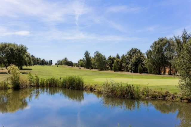 A view over the water from Metz Cherisey Golf Club