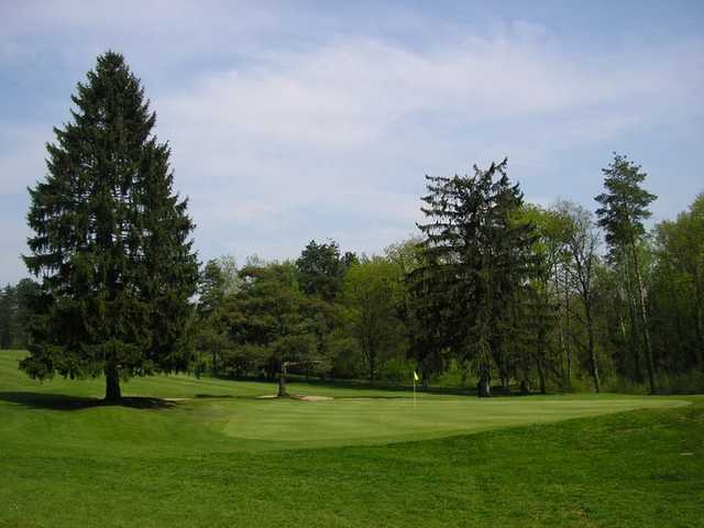 A view from Nancy Golf Club