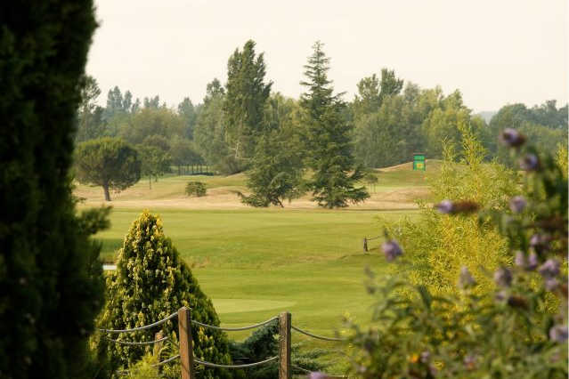 A view from Toulouse-Seilh Golf Club
