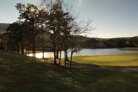 A view from Orchard Golf & Country Club