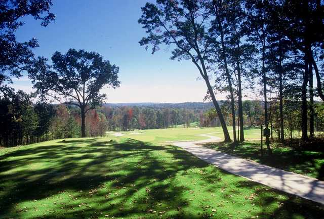 A view from Cherokee Run Golf Club