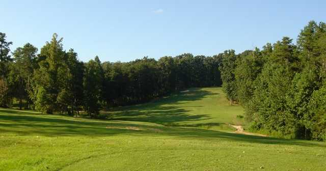 A view of green #7 at Country Land Golf Course
