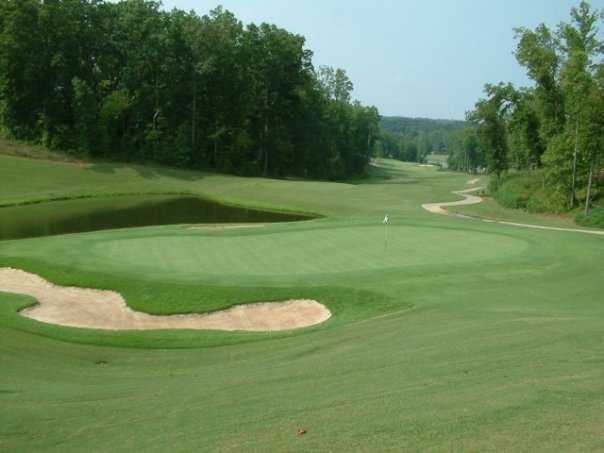 A view of hole #3 at Chestatee Golf Club