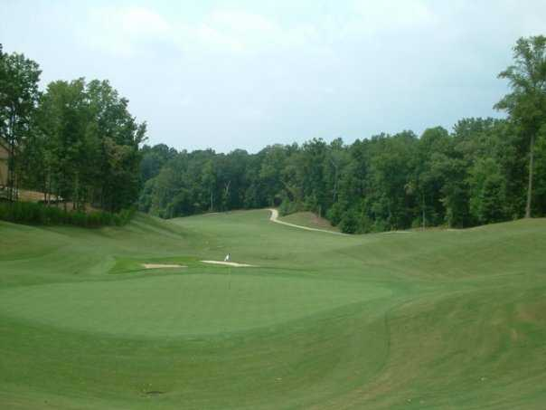 A view of the 9th green at Chestatee Golf Club