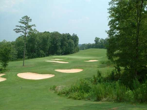 A view of green #16 at Chestatee Golf Club