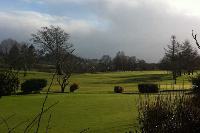 A sunny day view from Dungannon Golf Club