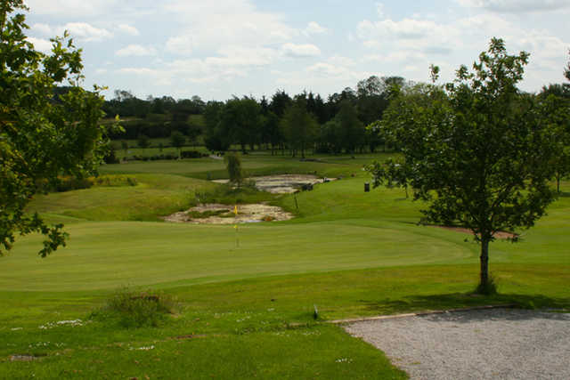 A view of a green at Dungannon Golf Club