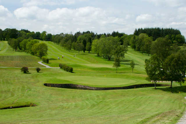A view from a fairway at Dungannon Golf Club