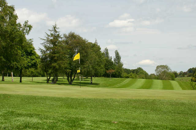 A view of a hole at Dungannon Golf Club