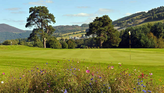 A great greenside view from Blair Atholl Golf Course