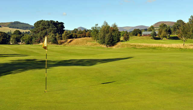 A view of a hole at Blair Atholl Golf Club