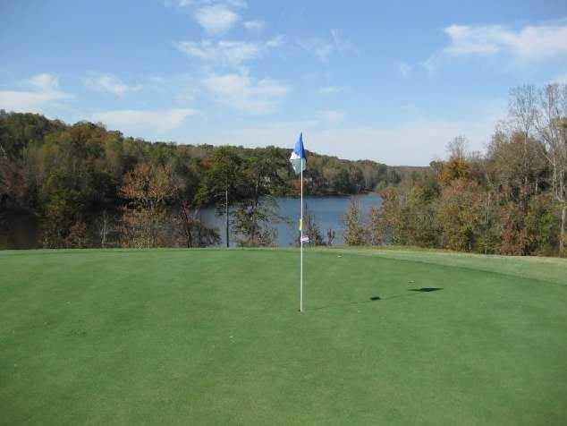 A view from the 14th green at Chattahoochee Golf Club