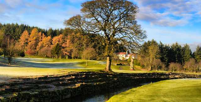 A fall view from Fintona Golf Club