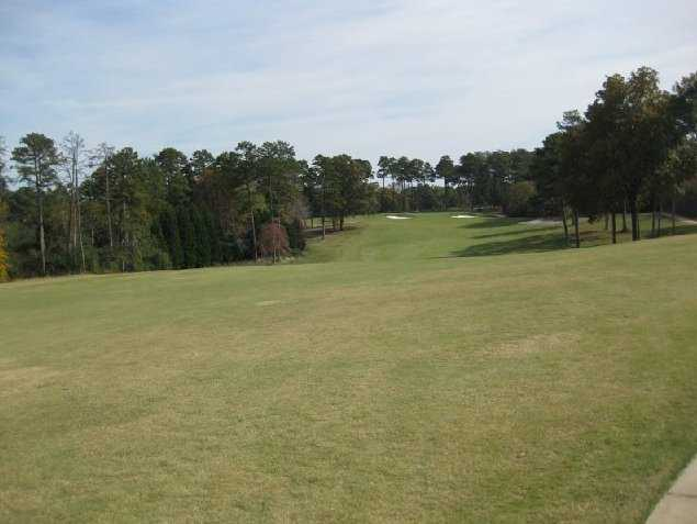 A view of green #8 at Chattahoochee Golf Club