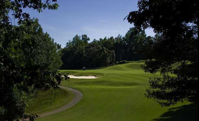 A view from Chicopee Woods Golf Course