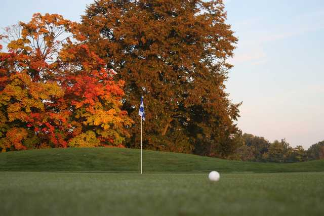 A fall view from Inwood Golf Course