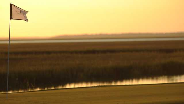 A view of a hole at Oak Marsh from Omni Amelia Island Resort