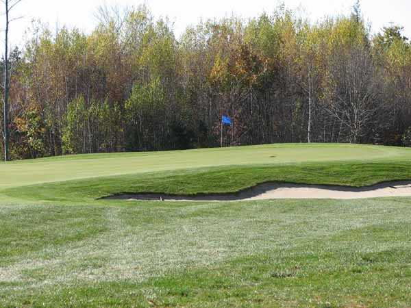 A view of a hole at Ridgewood Country Club