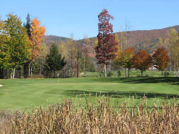 A fall view from Ridgewood Country Club