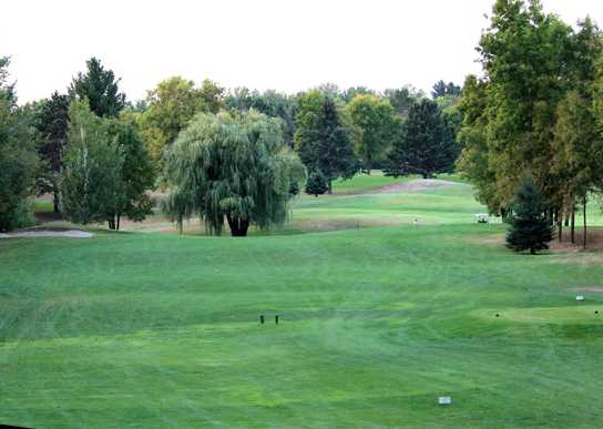 A view from Stones Throw Golf Course