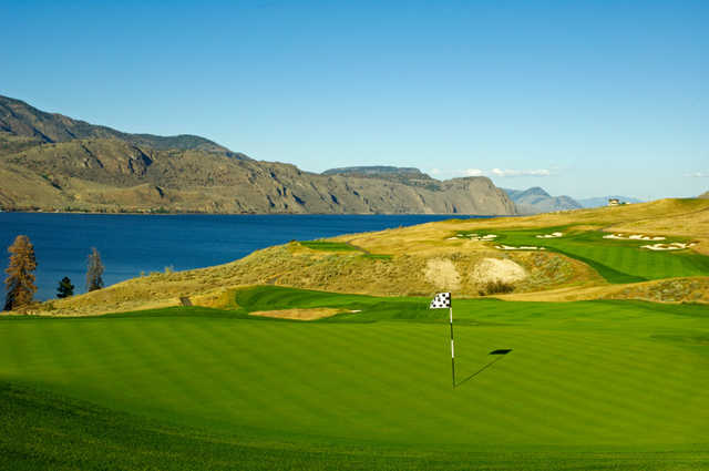 A view of a hole at Tobiano Golf Course