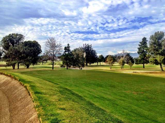A view of a green at Santa Barbara Golf Club