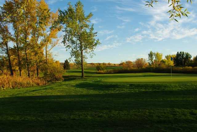 A fall view from Weyburn Golf Club