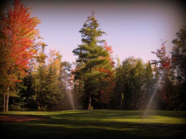 A fall view from Poplar Golf Course