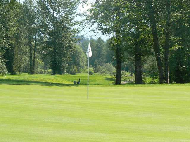 A view of a green from Meadows at Pemberton
