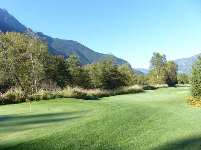 A view of a tee from Meadows at Pemberton