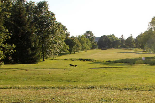 A view from a tee at Suneagles Golf Club