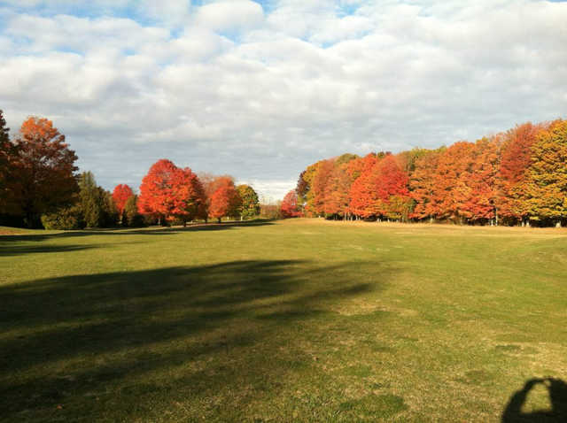 Autumn view at Maxwelton Braes Golf Course