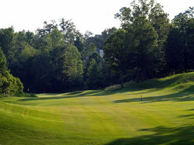 A view of tee #1 at Creekside Golf & Country Club