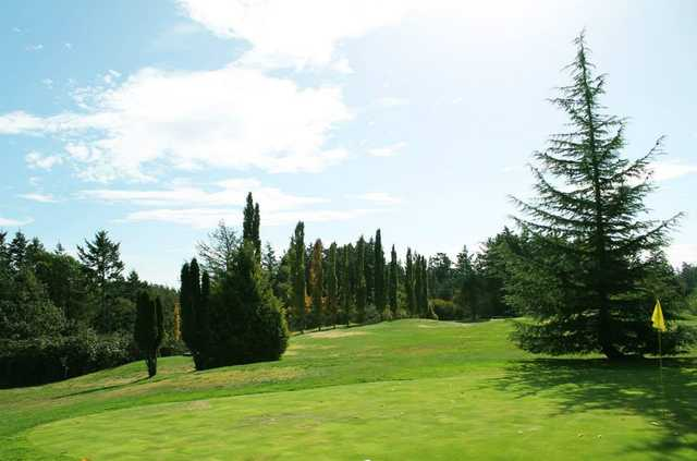 A view from Green Acres Golf Course