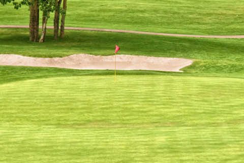A view of a hole at Pine Ridge Golf Club