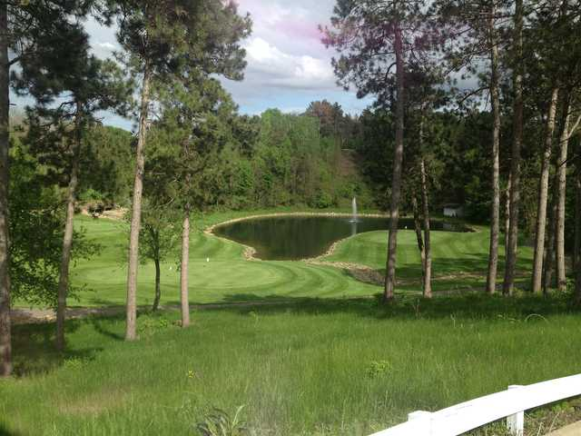 A sunny day view from St. Croix National Golf Club