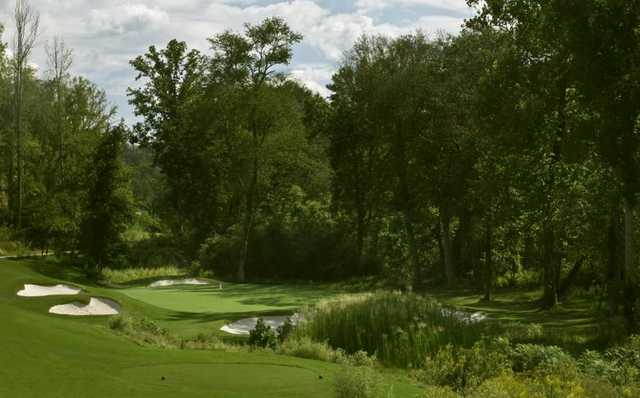 A view of hole #11 at Reunion Country Club