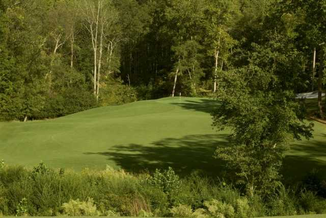 A view of the 13th green at Reunion Country Club