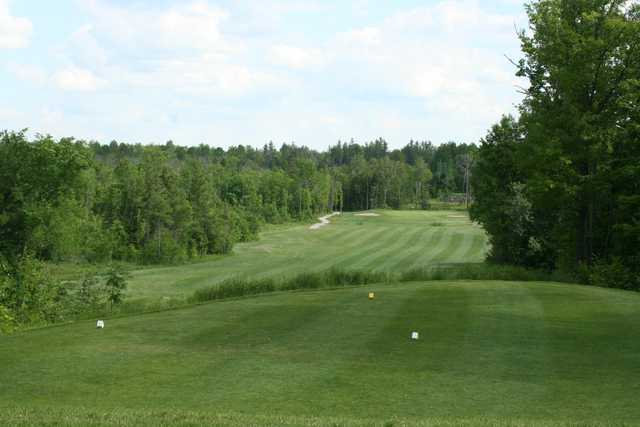 A view from the 4th tee at Whitetail Golf Club