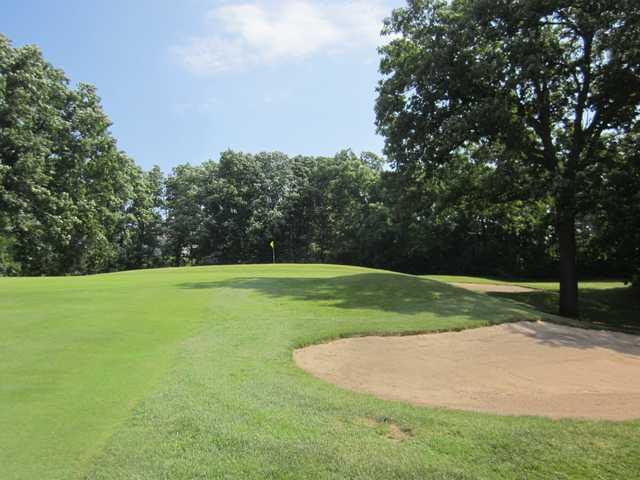 A view from a fairway at Chemung Hills Golf Club