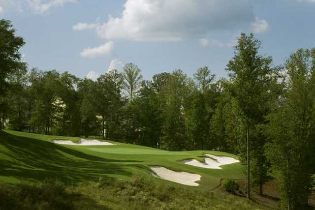 A view of green #14 at Reunion Country Club