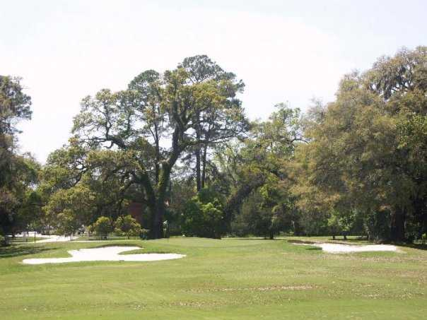 A view of the 16th hole at Jekyll Island Golf Course - Oleander Course