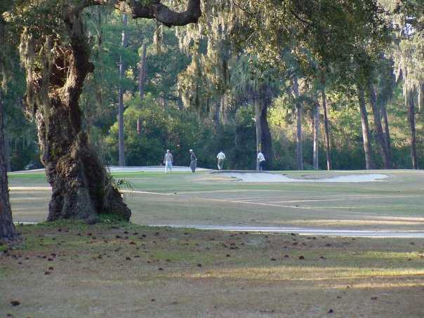 A view of hole #14 at Jekyll Island Golf Course - Oleander Course