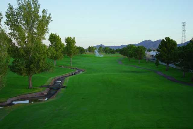 A view of a fairway at Championship from Viewpoint Golf Resort