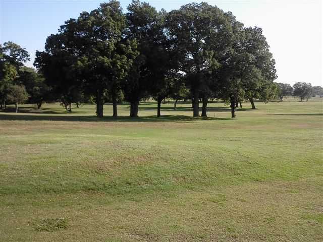 A sunny day view from Granbury Country Club
