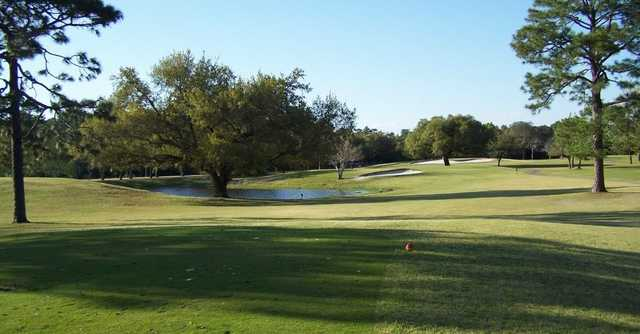 View of the 6th hole from the Refuge Golf Club at Gulf State Park