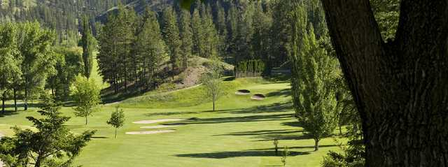 A view from the 10th fairway at Twin Lakes Golf Course